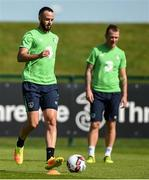 29 August 2016; Marc Wilson of Republic of Ireland during squad training at the National Sports Campus, Abbottown, Dublin.  Photo by David Maher/Sportsfile