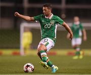 31 August 2016; Wes Hoolahan of Republic of Ireland during the Three International Friendly game between the Republic of Ireland and Oman at the Aviva Stadium in Lansdowne Road, Dublin. Photo by Matt Browne/Sportsfile