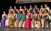 6 November 2010; President of the Camogie Association Joan O' Flynn and Ard Stiúrthoir Sinead O'Connor with Soaring Stars award recipients, back row, from left, Shona Curran, Waterford, Jennie Simpson, Waterford, Áine Lyng, Waterford, Michaela Convery, Antrim, Sarah Anne Fitzgerald, Laois, Patrica Jackman, Watford, Rhona Torney, Antrim, and Fionnula Carr, Down, with front row, from left, Regina Gorman, Kildare, Jane Dolan, Meath, Bernie Murray, Armagh, Caroline Connaughton, Roscommon, Jane Adams, Antrim, Kerrie O'Neill, Antrim, and Shannon Graham, Antrim, at the 2010 Camogie All-Stars in association with O'Neills.itywest Hotel, Saggart, Co. Dublin. Picture credit: Barry Cregg / SPORTSFILE