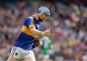 4 September 2016; Jake Morris of Tipperary celebrates after scoring his team's first goal of the match during the Electric Ireland GAA Hurling All-Ireland Minor Championship Final in Croke Park, Dublin.  Photo by Seb Daly/Sportsfile