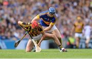 4 September 2016; Cillian Buckley of Kilkenny  in action against Jason Forde of Tipperary  during the GAA Hurling All-Ireland Senior Championship Final match between Kilkenny and Tipperary at Croke Park in Dublin. Photo by Eóin Noonan/Sportsfile