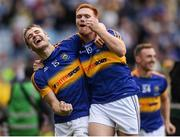 4 September 2016; John McGrath, left, and Jason Forde of Tipperary celebrate after the GAA Hurling All-Ireland Senior Championship Final match between Kilkenny and Tipperary at Croke Park in Dublin. Photo by Eóin Noonan/Sportsfile