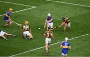 4 September 2016; Richie Hogan of Kilkenny scores his side's second goal during the GAA Hurling All-Ireland Senior Championship Final match between Kilkenny and Tipperary at Croke Park in Dublin. Photo by Daire Brennan/Sportsfile