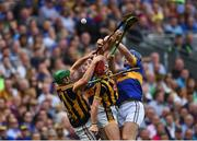 4 September 2016; Shane Prendergast, left, and Cillian Buckley of Kilkenny in action against John McGrath and Jason Forde, right, of Tipperary during the GAA Hurling All-Ireland Senior Championship Final match between Kilkenny and Tipperary at Croke Park in Dublin. Photo by Paul Mohan/Sportsfile
