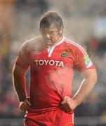 18 December 2010; Tony Buckley, Munster, during the game. Heineken Cup, Pool 3, Round 4, Ospreys v Munster, Liberty Stadium, Swansea, Wales. Picture credit: Stephen McCarthy / SPORTSFILE