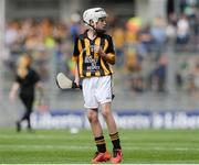 4 September 2016; Evan Geoghegan, Kildalkey NS, Kildalkey, Meath, representing Kilkenny, during the INTO Cumann na mBunscol GAA Respect Exhibition Go Games at the GAA Hurling All-Ireland Senior Championship Final match between Kilkenny and Tipperary at Croke Park in Dublin. Photo by Eóin Noonan/Sportsfile