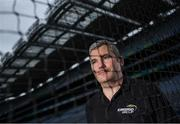 9 September 2016; Former Mayo manager James Horan was in Croke Park in Dublin today to announce details on the EirGrid Digital Clock Competition launch. EirGrid, the Official Timing Sponsor of Croke Park, are giving one club in each province the chance to win a digital clock and scoreboard. To enter please log onto www.eirgridgroup.com/eirgrid-time-is-now and submit 200 words as to why your club deserves this prize. Photo by Ramsey Cardy/Sportsfile