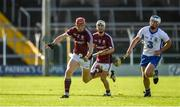 10 September 2016; Bord Gáis Energy Ambassador Conor Whelan of Galway in action against Míchéal Harney of Waterford during the Bord Gáis Energy GAA Hurling All-Ireland U21 Championship Final match between Galway and Waterford at Semple Stadium in Thurles, Co Tipperary. Photo by Ray McManus/Sportsfile