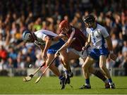 10 September 2016; Míchéal Harney, left, and Conor Gleeson of Waterford in action against Bord Gáis Energy Ambassador Conor Whelan of Galway during the Bord Gáis Energy GAA Hurling All-Ireland U21 Championship Final match between Galway and Waterford at Semple Stadium in Thurles, Co Tipperary. Photo by Ray McManus/Sportsfile
