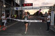 13 September 2016; Mark Kirwan wins the Grant Thornton Corporate 5K Team Challenge 2016 at Dublin Docklands. Photo by Stephen McCarthy/Sportsfile