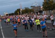 13 September 2016; A general view during the Grant Thornton Corporate 5K Team Challenge 2016 at Dublin Docklands. Photo by Ramsey Cardy/Sportsfile