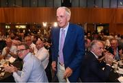 17 September 2016; Former Cork hurler and footballer Ray Commins on his way up to get his GPA Lifetime Achievement Awards at the GPA Former Players Event in Croke Park. Over 450 former county footballers and hurlers gathered at the annual lunch which is now in its fourth year. The event featured GPA Lifetime Achievement Awards for Mayo football hero of the 1950s Paddy Prendergast and Cork dual legend, Ray Cummins at Croke Park, Dublin.  Photo by Matt Browne/Sportsfile