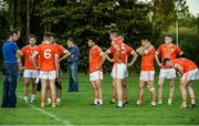 17 September 2016; The Brosna team dejected after the cup final during the Volkswagen Junior Football 7s at St Judes GAA Club, Wellington Lane, Dublin.  Photo by Sam Barnes/Sportsfile