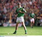 16 September 2001; Mark Keane, Limerick U-21. Hurling. Picture credit; Damien Eagers / SPORTSFILE