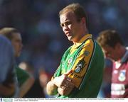23 September 2001; John McDermott of Meath following the GAA Football All-Ireland Senior Championship Final match between Galway and Meath at Croke Park in Dublin. Photo by Damien Eagers/Sportsfile