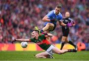 18 September 2016; Paul Mannion of Dublin in action against Diarmuid O'Connor of Mayo of Mayo during the GAA Football All-Ireland Senior Championship Final match between Dublin and Mayo at Croke Park in Dublin. Photo by Stephen McCarthy/Sportsfile