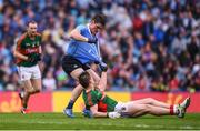 18 September 2016; Diarmuid Connolly of Dublin tussles with Lee Keegan of Mayo during the GAA Football All-Ireland Senior Championship Final match between Dublin and Mayo at Croke Park in Dublin. Photo by Stephen McCarthy/Sportsfile