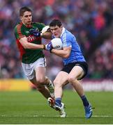 18 September 2016; Diarmuid Connolly of Dublin in action against Lee Keegan of Mayo during the GAA Football All-Ireland Senior Championship Final match between Dublin and Mayo at Croke Park in Dublin. Photo by Stephen McCarthy/Sportsfile