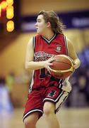 26 January 2011; Shauna Doyle, Calasanctius College, Oranmore, Galway. Basketball Ireland Girls U16A Schools Cup Final, Calasanctius College, Oranmore, Galway v St. Vincents Secondary School, Cork, National Basketball Arena, Tallaght, Dublin. Picture credit: Stephen McCarthy / SPORTSFILE