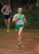 12 December 2010; Ireland's Brian Farrell in action during the Senior Men's race. 17th SPAR European Cross Country Championships, Albufeira, Portugal. Picture credit: Brendan Moran / SPORTSFILE