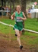 12 December 2010; Ireland's Dan Muhare in action during the Senior Men's race. 17th SPAR European Cross Country Championships, Albufeira, Portugal. Picture credit: Brendan Moran / SPORTSFILE