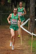 12 December 2010; Ireland's Gary Thornton in action during the Senior Men's race. 17th SPAR European Cross Country Championships, Albufeira, Portugal. Picture credit: Brendan Moran / SPORTSFILE