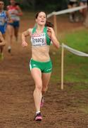 12 December 2010; Ireland's Sara Louise Treacy in action during the U23 Women's race. 17th SPAR European Cross Country Championships, Albufeira, Portugal. Picture credit: Brendan Moran / SPORTSFILE