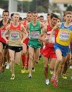 12 December 2010; Ireland's David McCarthy in action during the U23 Men's race. 17th SPAR European Cross Country Championships, Albufeira, Portugal. Picture credit: Brendan Moran / SPORTSFILE