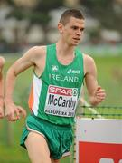 12 December 2010; Ireland's David McCarthy in action during the Men's U23 race where Ireland won the team gold. 17th SPAR European Cross Country Championships, Albufeira, Portugal. Picture credit: Brendan Moran / SPORTSFILE