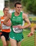 12 December 2010; Ireland's Shane Quinn in action during the Men's Junior race. 17th SPAR European Cross Country Championships, Albufeira, Portugal. Picture credit: Brendan Moran / SPORTSFILE