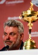 26 September 2016; Europe team captain Darren Clarke ahead of The 2016 Ryder Cup Matches at the Hazeltine National Golf Club in Chaska, Minnesota, USA. Photo by Ramsey Cardy/Sportsfile