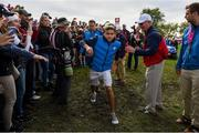 27 September 2016; Singer Niall Horan of Europe during the Celebrity Matches at The 2016 Ryder Cup Matches at the Hazeltine National Golf Club in Chaska, Minnesota, USA. Photo by Ramsey Cardy/Sportsfile