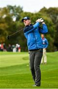 27 September 2016; Former Ireland and Munster rugby player Paul O'Connell of Europe during the Celebrity Matches at The 2016 Ryder Cup Matches at the Hazeltine National Golf Club in Chaska, Minnesota, USA. Photo by Ramsey Cardy/Sportsfile