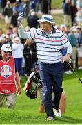 27 September 2016; Actor Bill Murray of USA during the Celebrity Matches at The 2016 Ryder Cup Matches at the Hazeltine National Golf Club in Chaska, Minnesota, USA. Photo by Ramsey Cardy/Sportsfile