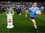1 October 2016; Eric Lowndes of Dublin runs out ahead of the GAA Football All-Ireland Senior Championship Final Replay match between Dublin and Mayo at Croke Park in Dublin. Photo by Stephen McCarthy/Sportsfile