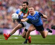 1 October 2016; Ciarán Kilkenny of Dublin in action against Diarmuid O'Connor of Mayo during the GAA Football All-Ireland Senior Championship Final Replay match between Dublin and Mayo at Croke Park in Dublin. Photo by Stephen McCarthy/Sportsfile