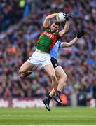 1 October 2016; Seamus O'Shea of Mayo in action against Brian Fenton of Dublin during the GAA Football All-Ireland Senior Championship Final Replay match between Dublin and Mayo at Croke Park in Dublin. Photo by Stephen McCarthy/Sportsfile