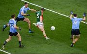 1 October 2016; Lee Keegan of Mayo scores his side's first goal during the GAA Football All-Ireland Senior Championship Final Replay match between Dublin and Mayo at Croke Park in Dublin. Photo by Daire Brennan/Sportsfile
