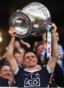 1 October 2016; Stephen Cluxton of Dublin lifts the Sam Maguire cup after the GAA Football All-Ireland Senior Championship Final Replay match between Dublin and Mayo at Croke Park in Dublin. Photo by Stephen McCarthy/Sportsfile