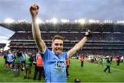 1 October 2016; Paddy Andrews of Dublin celebrates after the GAA Football All-Ireland Senior Championship Final Replay match between Dublin and Mayo at Croke Park in Dublin. Photo by Ray McManus/Sportsfile