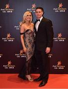 3 November 2017; Dublin footballer Stephen Cluxton with Joanne Cluxton upon arrival at the PwC All Stars 2017 at the Convention Centre in Dublin. Photo by Seb Daly/Sportsfile