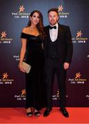3 November 2017; Monaghan footballer Fintan Kelly with Natasha O'Connor upon arrival at the PwC All Stars 2017 at the Convention Centre in Dublin. Photo by Brendan Moran/Sportsfile