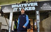 3 November 2017; Conor O'Brien of Leinster arrives ahead of the Guinness PRO14 Round 8 match between Glasgow Warriors and Leinster at Scotstoun in Glasgow, Scotland. Photo by Ramsey Cardy/Sportsfile