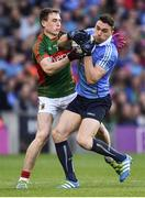 1 October 2016; Paddy Andrews of Dublin in action against Patrick Durcan of Mayo during the GAA Football All-Ireland Senior Championship Final Replay match between Dublin and Mayo at Croke Park in Dublin. Photo by Paul Mohan/Sportsfile
