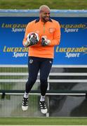 3 October 2016; Darren Randolph of Republic of Ireland during squad training at the FAI National Training Centre in Abbotstown, Dublin. Photo by David Maher/Sportsfile