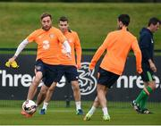 3 October 2016; Richard Keogh of Republic of Ireland during squad training at the FAI National Training Centre in Abbotstown, Dublin. Photo by David Maher/Sportsfile