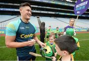 8 October 2016; Wexford hurler Lee Chin signs autographs at Croke Park today which played host to some of Ireland's most talented hurlers, along with over 500 children, who lined-out to learn tips and skills from their hurling heroes as part of Centra's Live Well hurling initiative. The participating children, who experienced a once in a lifetime opportunity, came from 12 lucky GAA clubs who each claimed their very special spot by winning a Live Well hurling challenge during the summer. Croke Park, Dublin. Photo by Cody Glenn/Sportsfile