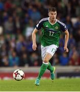 8 October 2016; Paddy McNair of Northern Ireland during the FIFA World Cup Group C Qualifier match between Northern Ireland and San Marino at Windsor Park in Belfast. Photo by David Fitzgerald/Sportsfile