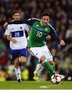 8 October 2016; Kyle Lafferty of Northern Ireland during the FIFA World Cup Group C Qualifier match between Northern Ireland and San Marino at Windsor Park in Belfast. Photo by David Fitzgerald/Sportsfile