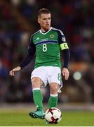 8 October 2016; Steven Davis of Northern Ireland during the FIFA World Cup Group C Qualifier match between Northern Ireland and San Marino at Windsor Park in Belfast. Photo by David Fitzgerald/Sportsfile